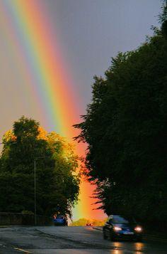 Rainbow Over Busby