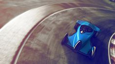 Coupémotion - eBugatti - powered by 4 electric wheel hub engines which allow for greater range and enhanced agility. Click for more pictures #auto #YankoDesign