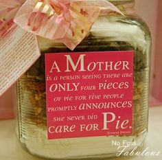 I love this quote about motherhood. Silent sacrifice.