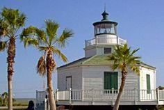 Texas Lighthouses   Halfmoon Reef LIght, Texas