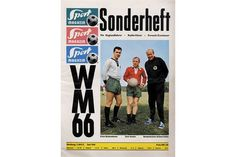Lot 649 - World Cup 1966 England. German Preview Magazine - German Sport Magazine Special, size 23x31cm, 52