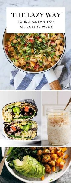 Want to eat clean for an entire week? Set up next week for success with this 7-day clean eating plan.