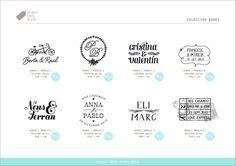Project party studio » Señoras y señores, con ustedes…. La Nueva Colección de sellos 2013