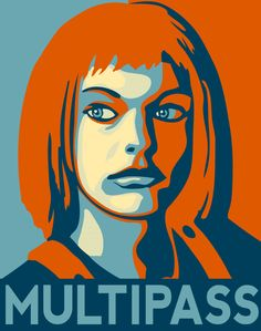 The Fifth Element. I hope women in the future look more and more like Milla Jovovich. Love Movie, I Movie, Foto Pop Art, Fifth Element, Milla Jovovich, Geek Out, Sci Fi Fantasy, Animation, Good Movies