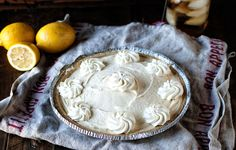 A nod to the Arnold Palmer...this icebox pie is made up of sweet tea ice cream and frosted lemonade ice cream. No bake and perfect for summer.