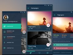 Dark version of an android app