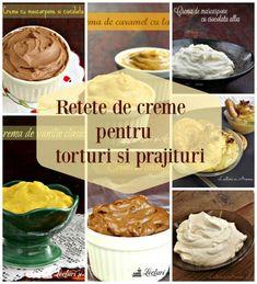 Cake Receipe, Creme Mascarpone, Creme Caramel, Romanian Food, Homemade Cakes, Something Sweet, Cream Cake, Desert Recipes, Mousse