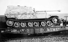 The Ferdinand ('Elefant') tank destroyer, another new German panzer that would see combat (disastrously) for the first time at Kursk in July 1943.