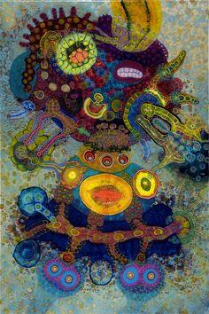 Artist- Bruce Riley Acrylic and resin - psychedelic art Psychedelic Art, Drip Painting, Painting & Drawing, Kunst Der Aborigines, Modern Art, Contemporary Art, Mandala, Resin Artwork, Resin Paintings