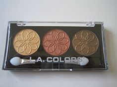 I have never found a better cheap eyeshadow then la colors. This compact is great but so is there brown and beige compact. The stuff stays on longer then my more expensive makeup but washes off easily at night. Love it!