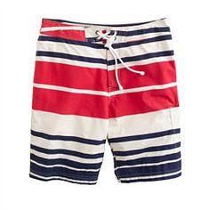 9 Board Shorts in Bold Stripe