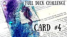 Diy Playing Cards, Alters, Junk Journal, My Etsy Shop, Deck, Challenges, Youtube, Collage, Art