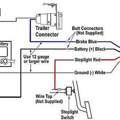on wiring harness for trailer ke controller