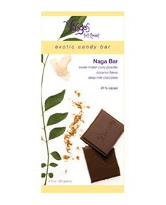 Vosges Naga Exotic Chocolate Bar. It is my favorite chocolate, hands down. That is saying a lot since I usually don't crave chocolate.