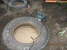 Bald wirst auch du einen Reifen im Garten vergraben wollen.