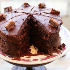 Great reviews on this recipe for easy chocolate sponge, may give it a go. Always perfect chocolate sponge cake @ allrecipes.co.uk