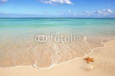Fototapete Hintergrund - Bellen - Strand - Karibik - Pixteria