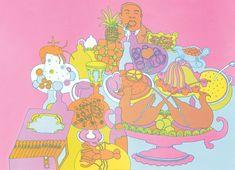 """Chew Chew Baby"" by Seymour Chwast for Push Pin Studio, 1967"