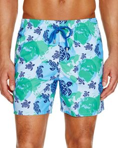 732aeb6533 Vilebrequin Moorea World Map Dots Swim Trunks Men - Bloomingdale's
