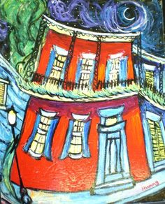 """XiangHong Huang, """"New Orleans Architecture"""""""