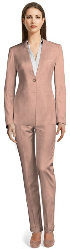 Pant Suits for Women Spring New, Pink Pants, Summer Wardrobe, Design Your Own, Suits For Women, Custom Made, Costumes, Fitness, Cotton