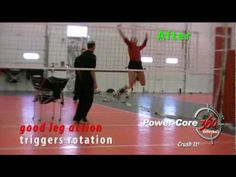 ▶ How to Hit Volleyball Harder and Improve Arm Swing - Leg Action Training at Club Practice - YouTube