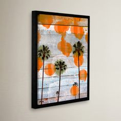 "Mercury Row California II Framed Painting Print on Wrapped Canvas Size: 32"" H x 24"" W x 2"" D"