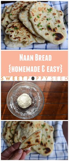 The best buttery and fluffy homemade naan bread for the whole family.