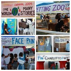 The School Carnival: One World, Many Stories | This Mama Makes Stuff. Summer Fair?