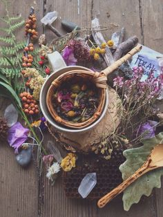 Herbs: #Herb ~ How are you healing today? Teascape, by Lindsay Luna.