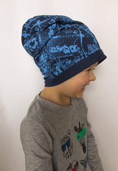 This slouchy hat is made of cotton fabric. The dark blue is nicely balanced with light blue pattern, thanks to it doesnt look dull. Roll up the bottom for a cuffed look, or keep it flat on the forehead with the hipster slouch in the back. It can be used in all sorts of occasions such as Dark Blue, Light Blue, Spring Hats, Cotton Beanie, Slouchy Beanie, Baseball Hats, Cotton Fabric, Baby Boy, Hipster