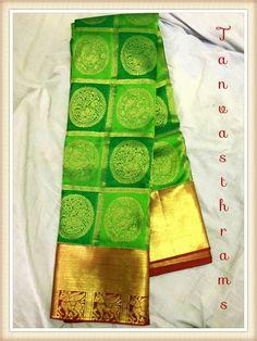 #kanjeevaramsaree #kanchipattu #kanjeevaramsilk  #silksarees #southindiansarees #bridalsaree #bigbutta #beautifulsilksarees #bigborder #peacockdesigns #bridalsarees #bridalsaree #southindianfashion #southindianbride