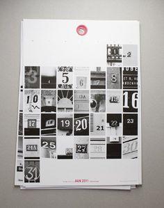 urbnCal - 2011年カレンダー