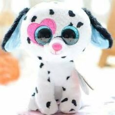 Ty Beanie Boos-Chloe the Dog! My friend has her! Big Eyed Stuffed Animals, Big Eyed Animals, Ty Animals, Ty Beanie Boos, Ty Boos, Beanie Babies, Ours Boyds, Ty Peluche, Ty Babies