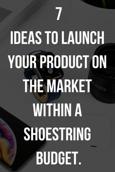 Launch your new products on the market within a shoestring budget New Product, Product Launch, New Market, Earn Money Online, Entrepreneurship, Business Tips, Budgeting, Marketing, News