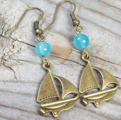 sail your own ship    http://www.etsy.com/listing/85713985/sail-your-own-ship-earrings