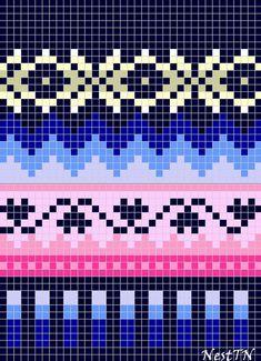 ВЯЗАНИЕ ДЛЯ СУМАСШЕДШИХ's photos – 34 albums | VK Tapestry Crochet Patterns, Fair Isle Knitting Patterns, Crochet Art, Knitting Charts, Loom Patterns, Knitting Stitches, Knitting Socks, Crochet Granny, Free Knitting