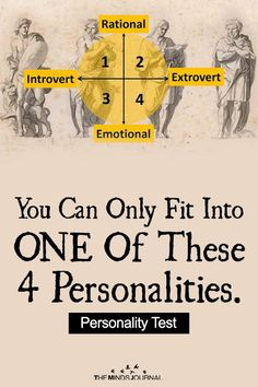 Have you ever thought about your personality and which one of the 4 Personality Type are you? Take this test to find out now! Personality Test Quiz, True Colors Personality, Personality Inventory, Personality Psychology, Extroverted Introvert, Introvert Problems, Intj, Difficult Relationship, Aromatherapy