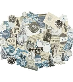 Kaisercraft Collectables Cardstock Die-Cuts-Frosted,