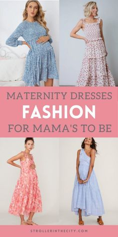 Maternity Fashion Dresses, Pregnancy Information, First Time Moms, Toddler Activities, New Moms, Baby Food Recipes, Style Inspiration, Summer Dresses, Hair