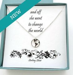 Skys The Limit Charm necklace in sterling silver on 18 Sterling Silver box chain.with 4 extender Graduation Gift Retirement Gift.