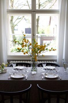 table setting still life props