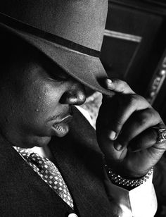 """biggie smalls - because he let everyone know """"sky's the limit"""" and he never gave up on his dream."""