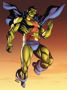Martian Manhunter by Robert Atkins