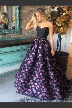 Prom Dresses A-Line Prom Dresses 2018 Prom Dresses Long Black Prom Dresses Prom Dresses 2019 Cheap Prom Dresses Online, A Line Prom Dresses, Beautiful Prom Dresses, Strapless Dress Formal, Dress Prom, Dress Long, Long Dresses, Event Dresses, Formal Gowns