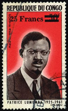 Stamp from Congo (DRC) via 'Stamps from the African Diaspora'