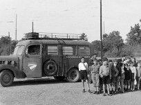 1948, Hegyhát utca, a Gyermekvasút végállomása, 12. kerület Utca, Tarot, Vehicles, Rolling Stock, Vehicle, Tarot Decks, Tarot Cards, Tools