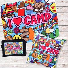 Is it time for camp yet? ⛺️🏕😬👯 #10for2 #lesters #camplesters #campeverything #coreypaigedesigns