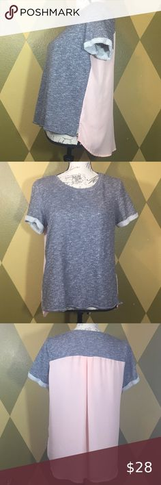 Size XL Purple Marle Active T-Shirt with Cut Out Back 20//22 New without Tags