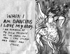 When I am dancing I love my body — Phoebe Wahl